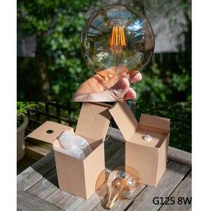 Image 4 - E27 żarówka LED ściemniająca żarówka E14 220V złota 1W 3W 4W 6W 8W E12 E26 110V Edison Retro żarówka LED 2200K G40 żarówka