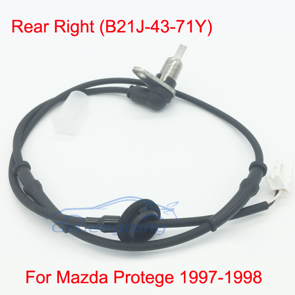 ABS Wheel Speed Sensor Rear Right for Mazda Protege 97-98 B21J-43-71Y