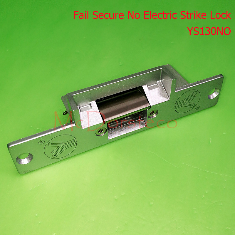 yli Best Quality Standard-type Electric Strike Lock Fail Secure Electric Door Lock Access Control Lock YS130NO No Lock yli electronic narrow type electric strike lock electric fail secure electric door lock access control lock ys130no