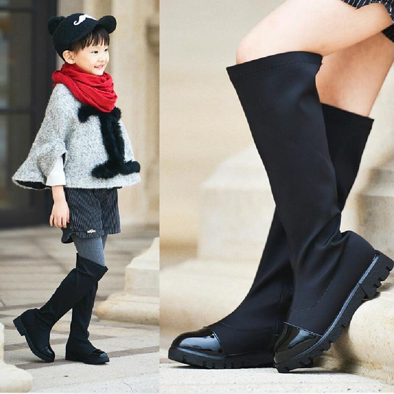 Aliexpress.com : Buy Koovan Girls Boots 2017 Girls Autumn Over The ...