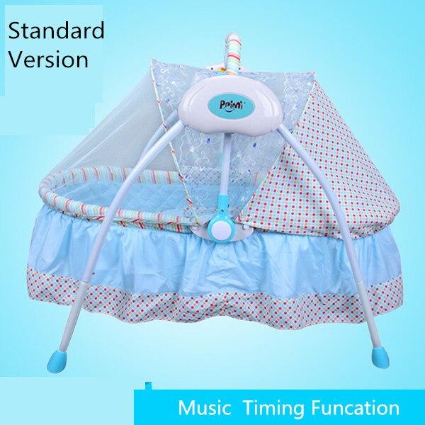 Электрический babysing супер легкий складной детская кровать/Детские кроватки/удобства п ...