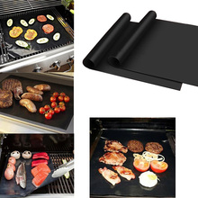 2PCS/lot Black Baking Mat BBQ Cooking Mat Reusable Nonstick Sheet Oven Tray Non-stick anti Hot Outdoor Activities C0