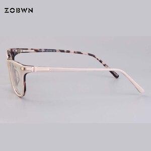 Image 2 - แฟชั่นคุณภาพสูงกรอบแว่นตาคอมพิวเตอร์ Prescription สายตาสั้นแว่นตาแว่นตาแว่นตาสีกากีรอบแว่นตา cat eye