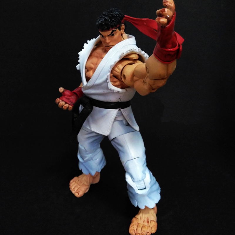 NECA Fighting Game Ultra Survival Model Hoshi Ryu Action Figure Brinquedos Kids Toys 6.8 image
