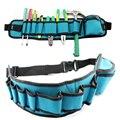 Multi-bolsillos Herramientas bolsa carpintero Equipos Rig Martillos cintura bolsillo electricista Herramientas bolsa titular cintura cinturón organizador bolsa