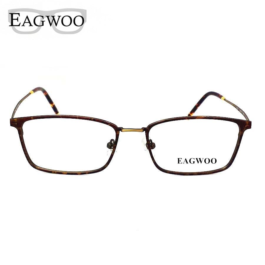 Titanium Eyeglasses Frame Vintage Nerd Big Size Optical Frame ...