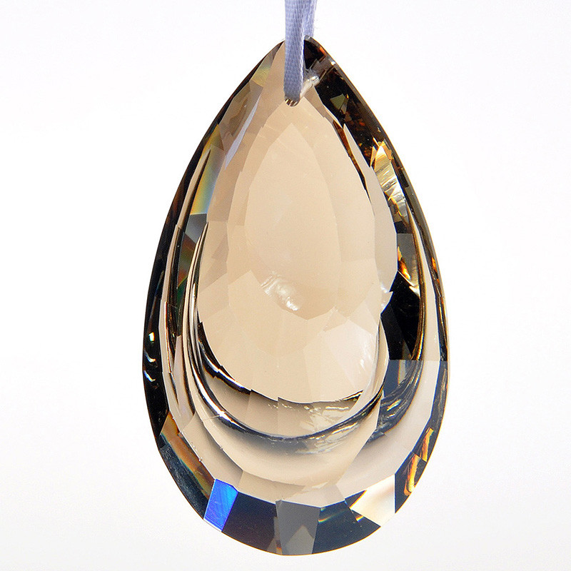 63mm champagne teardrop k9 glass crystal prisms pendants chandeliers 63mm champagne teardrop k9 glass crystal prisms pendants chandeliers parts garland chakra spectra lustres lamp hang drops decor in garden suncatchers from mozeypictures Gallery
