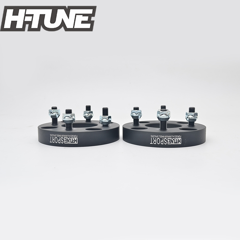 H-TUNE 4PCS Forged Aluminum Black 4x114.3 to 4x100 67.1CB 25mm Wheel Spacers fit for most 4 Lug 021bk 5x4 5 to 5x100 forged wheel adapters ksp 4 1 wheel spacers 5x114 3 vehicle to 5x100 wheel changes bolt pattern