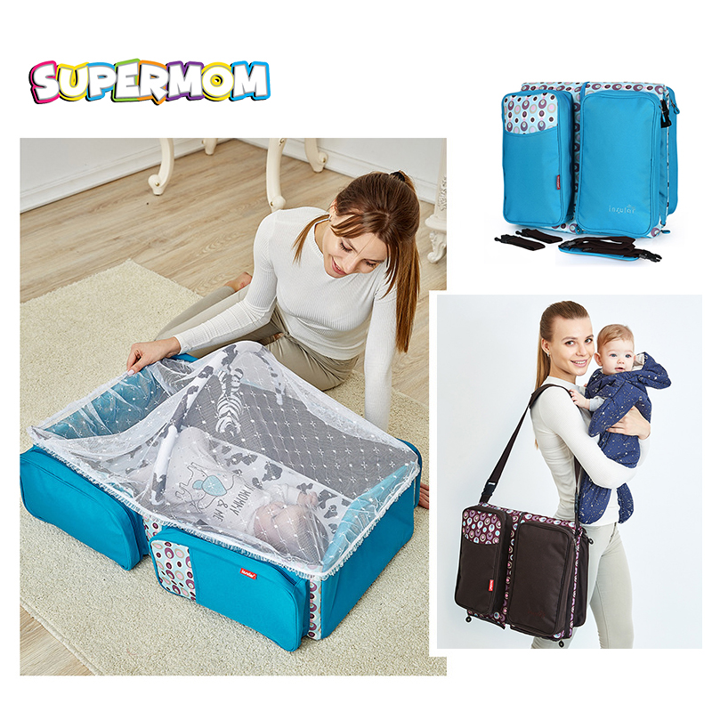 Portable Baby Crib Infant Bed Tent Sleeping Basket With Mosquito Net Folding Newborn Carrycot Baby Cradle