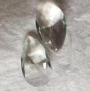 Image 1 - 324 PCS/LOT 50mm larme cristal Penant pour lustre prisme pièces livraison gratuite