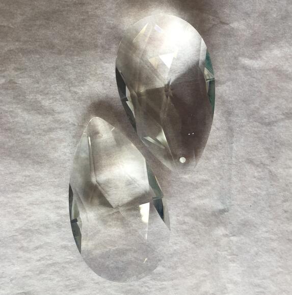 324 PCS/LOT 50mm larme cristal Penant pour lustre prisme pièces livraison gratuite