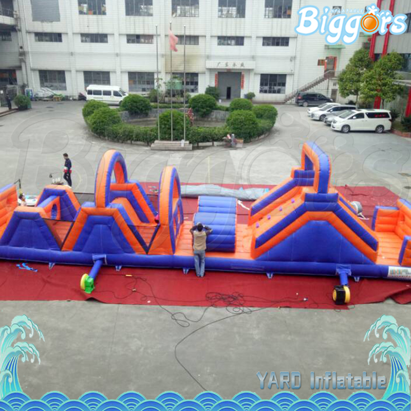 цена на Inflatable Obstacle Castle Game Inflatable Playground Obstacle Course Sports Game