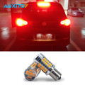 2pcs Super Bright Canbus 1156 BAU15S PY21W 7507 BA15S P21W 7506 36LED 5730SMD Yellow Rear Turn Signal Light For VW Golf4 Jetta