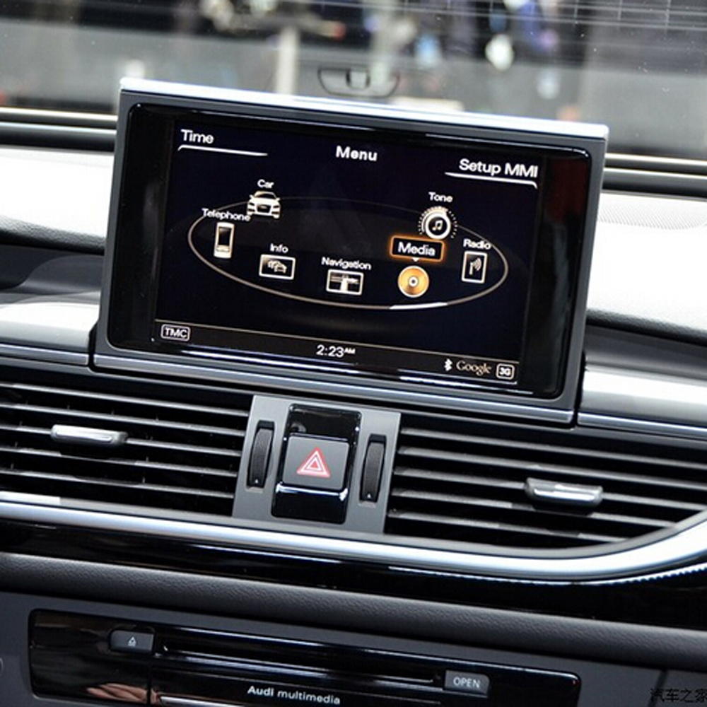 suitable for <font><b>Audi</b></font> <font><b>A7</b></font> 2016 Simple Interface Insert Rear <font><b>Camera</b></font> and Front <font><b>Camera</b></font> Retain all OEM Functions Video Integration image
