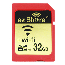 WiFi SD Card 4G 8GB 16GB 32G SDHC Class 10 Flash Memory Card Wireless WLAN Wi-fi Card For Canon Nikon Casio Digital SLR Camera