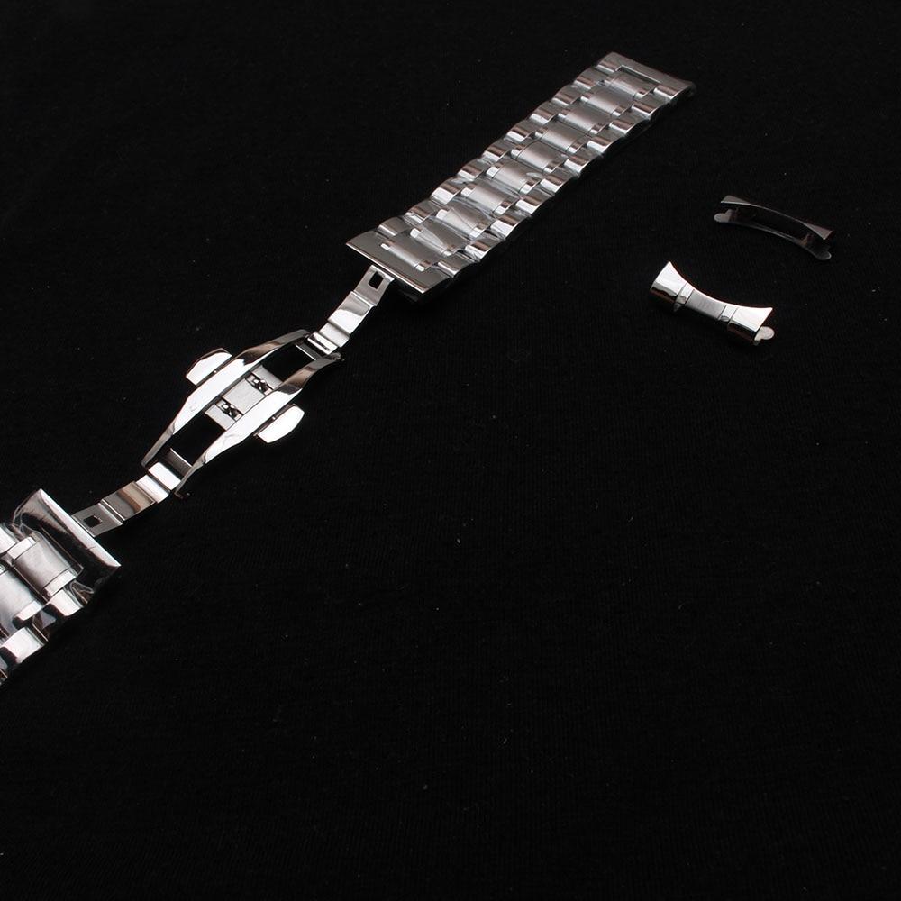 Kordonlu saat erkek bilekliği kayışları bilezikler 14mm 15mm 16mm - Saat Aksesuarları - Fotoğraf 4