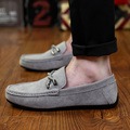 Men Loafers Designer Flats Shoes Handmade Male Moccasin Breathable Lightweight Boat Shoes Luxury Brand Hot Sales