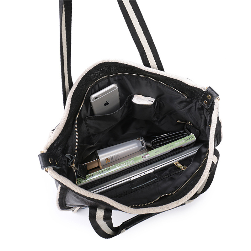 0bb972e1fb2 Aliexpress.com   Buy Bestbaoli High Capacity Totes Genuine leather Luxury  Handbags Women Bags Designer Fashion Cowhide Shoulder Bag Bolsas Feminina  from ...
