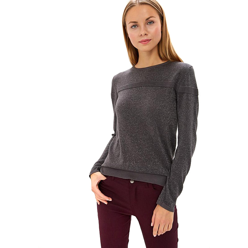 Sweaters MODIS M182W00109 jumper sweater clothes apparel pullover for female for woman TmallFS dresses befree 1731075511 woman dress cotton long sleeve women clothes apparel casual spring for female tmallfs