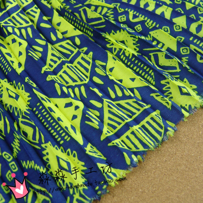 Color Pattern Pattern Soft and Non - Breathable Pendants Fold Pleated  Corrugated Korean Velvet Chiffon Fabric - us613 f39ee15bc67