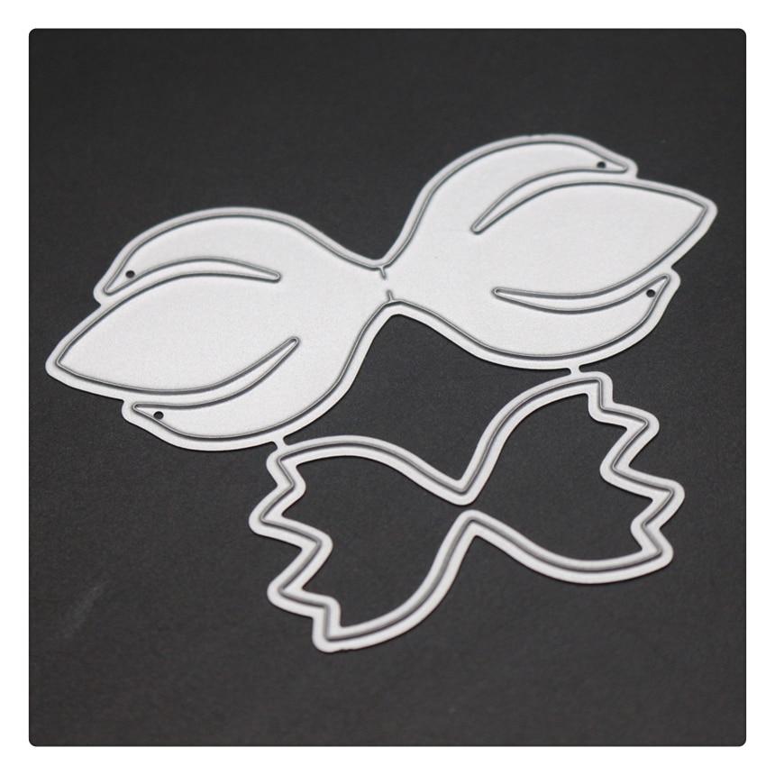YINIS1700 BOW DIE CUT Scrapbook Metal Cutting Dies For Scrapbooking Stencils DIY Album Cards Decoration Embossing Folder Die Cut in Cutting Dies from Home Garden