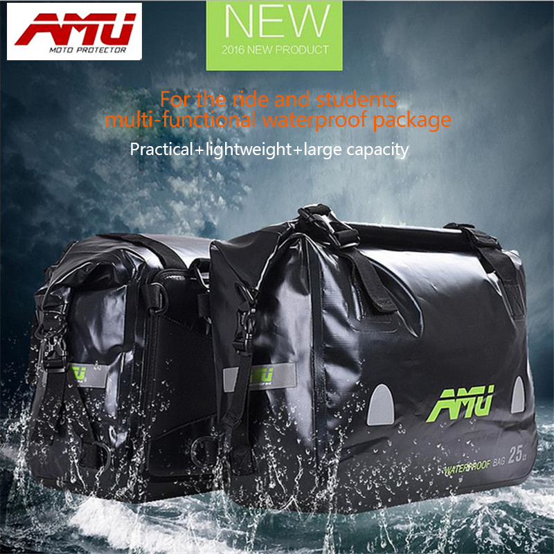 Authentic AMU Motorcycle Ride Bag Multifunctional Waterproof Bags Side Bags Outer Bag B22 сосо amu 500