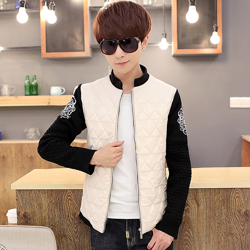 2015 new arrival winter <font><b>jacket</b></font> men,casual black <font><b>jacket</b></font> men ,casual winter caot ,men caot ,plus-szie ,free shipping