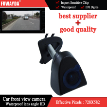 FUWAYDA SONY CCD HD Car Front View Logo Embeded Camera For T