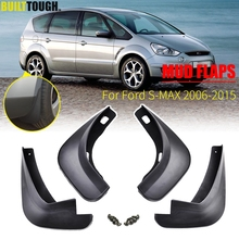 4x Molded Mud Flaps For Ford S Max 2006   2015 Mudflaps Splash Guards Mudguards 2007 2008 2009 2010 2011 2012 2013 2014