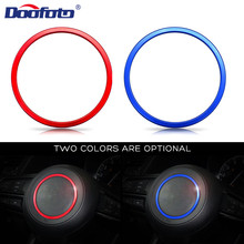 цена на DOOFOTO Steering Wheel Cover Decoration Circle Ring For Mazda 2 3 6 GH CX5 CX-5 CX3 CX-3 CX 7 Car Styling Interior Accessories