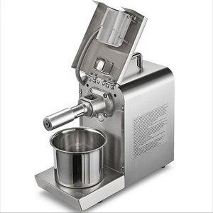 Image 2 - Кухонная техника, пресс для масла, машина для домашнего использования, Электрический пресс для холодного отжима, экстрактор масла, льняные семена, арахис, кокосовое масло, прижимная машина