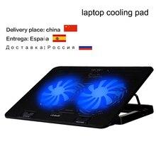 Topmate приспособление cooler довольно подставка охлаждения ноутбуков два вентилятор колодки ноутбука