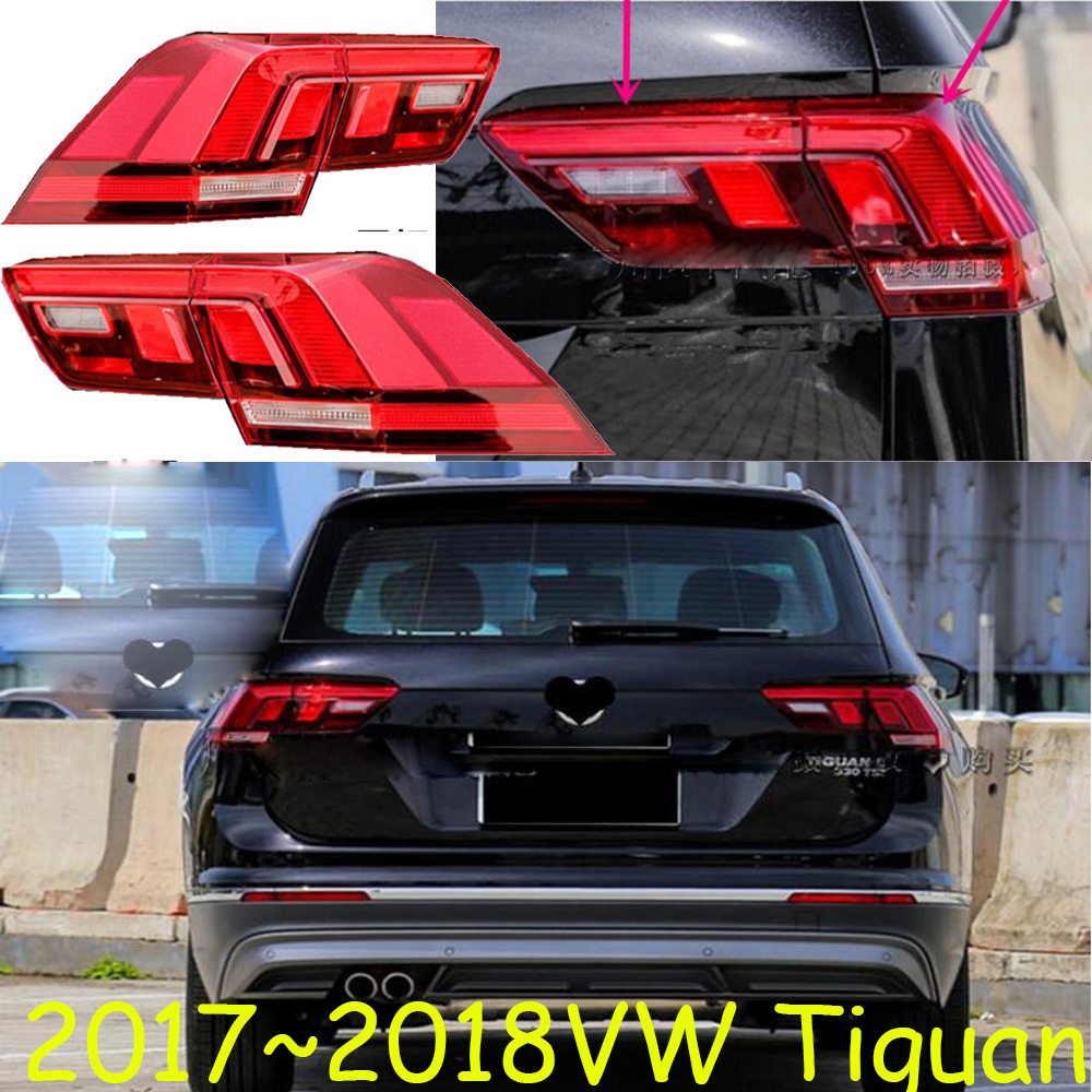 Tiguan taillight,2017~2018year,LED,Free ship!ouareg,sharan,Golf7,routan,saveiro,polo,passat,magotan,jetta,vento,Tiguan rear lamp for volkswagen polo mk5 vento cross polo led head lamp headlights 2010 2014 year r8 style sn