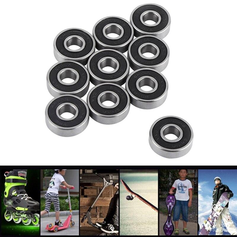 No Noise Smooth Skate Scooter Bearing Longboard Speed Inline Skate Wheel Bearing Mini Skateboard Skater Scooter Bearings