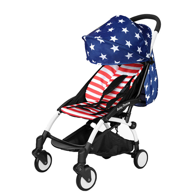 Mini Sistema de Viaje Bebé Cochecito Ligero Cochecito de niño Infantil Vuelo Plegable