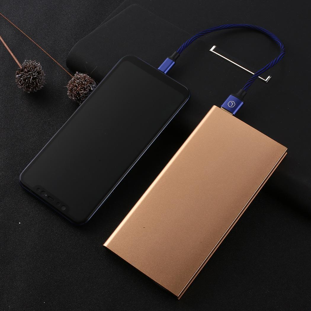 Portable Charger External-Battery-Bank Led-Power-Bank 20000mah Phone USB with Usb-Output