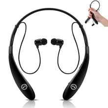 Neckbank Wireless Bluetooth Headset Sports Earphone Stereo Headphone With Microphone Earbuds Earpiece For Iphone LG Andriod etc