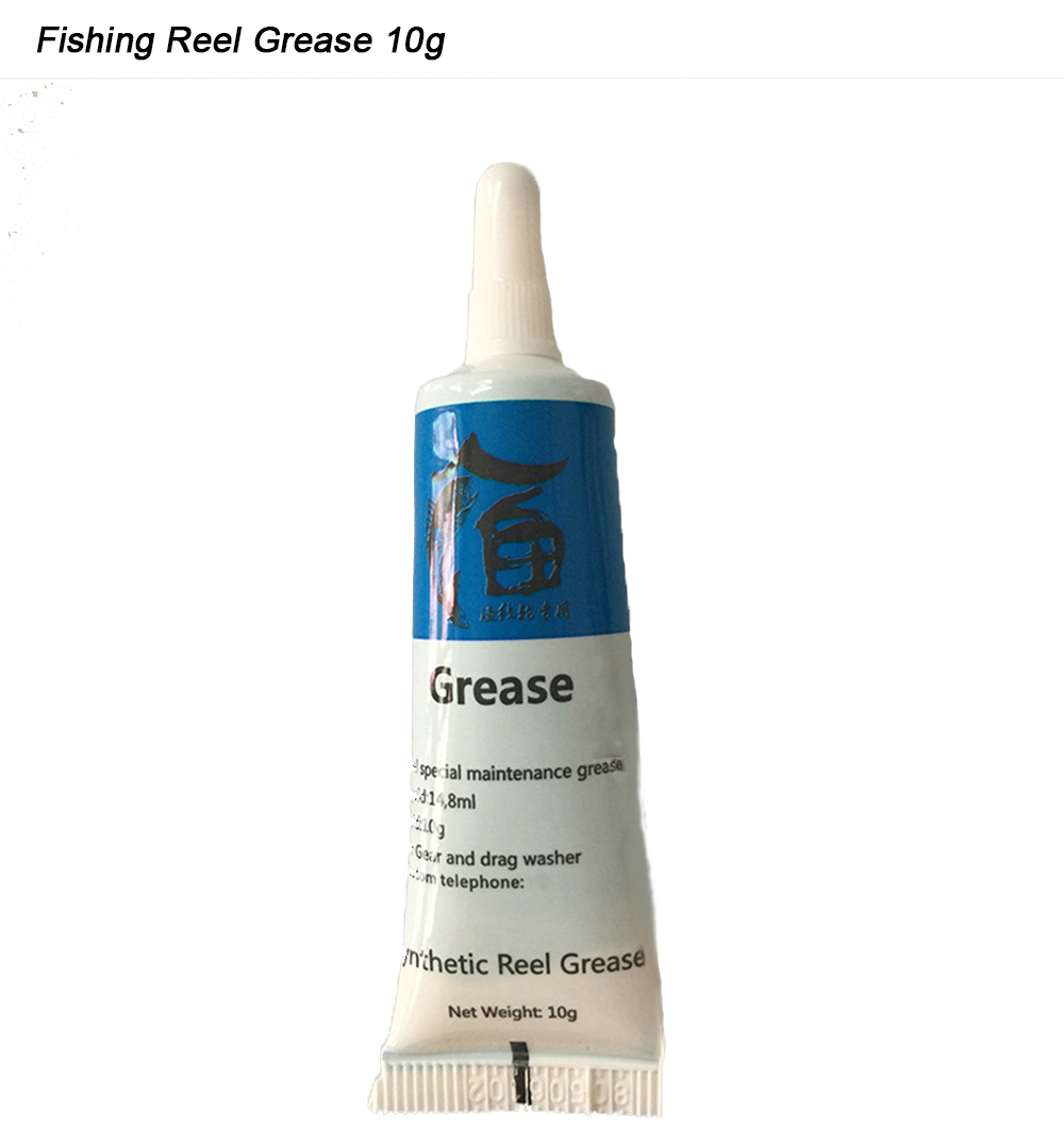 Extragreen fishing reel grease 10g ball bearing lubricant for Fishing reel grease