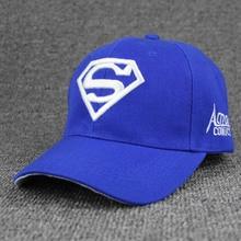 Superman Cap Casual Outdoor Baseball Caps For Men Hats Women Snapback Caps For Adult Sun Hat Gorras wholesale