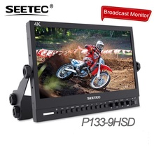 SEETEC P133-9HSD 13.3 Aluminum Design IPS 1920 1080 Pro Broadcast LCD Monitor with 3G-SDI HDMI Desktop