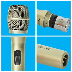 Image 3 - FREEBOSS FB Y02 رائجة البيع عالية الجودة المهنية السلكية ميكروفون لحزب هيئة التصنيع العسكري Karoke KTV