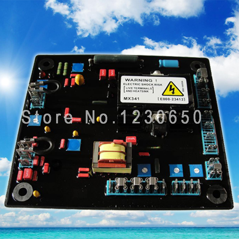 ФОТО Nupart carton  and  red Capacitance AVR MX341 for  generator