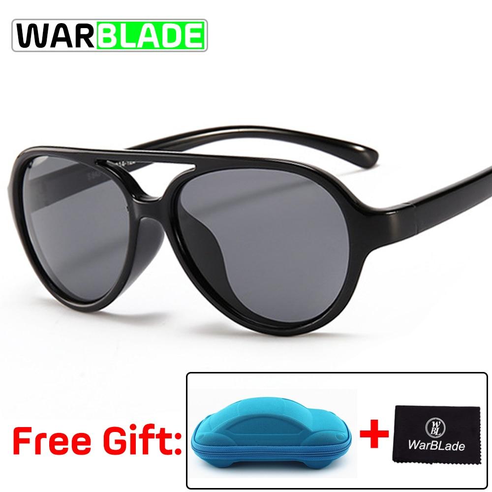 Marke Qualität Kinder Sonnenbrille Polarisierte Baby Junge Mädchen Tr90 Sonnenbrille Kind Pilot Sonnenbrille Infant Shades Mit Fall Wbl