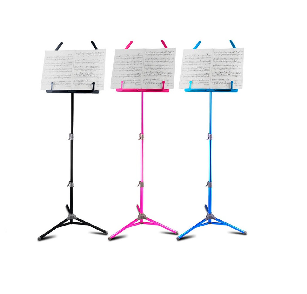 Flanger FL-05 Professional Foldable Small Music Stand Musical Instrument Black Free Shipping m903 aluminium alloy professional fl 05r foldable small music stand musical instrument with double quilted carry bag 4 colors