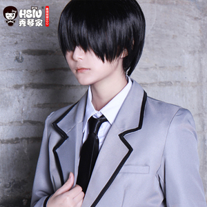 Image 2 - HSIU Chiba Ryuunosuke Cosplay Wig Assassination Classroom Costume Play Wigs Halloween Costumes Hair
