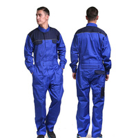 Men's 100% cotton coverall workwear suit mining work wear overalls for mechanic carpenter repairman