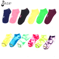 3 Pairs/lot Cotton Summer Style Women Boat Socks Different Style  Short Socks