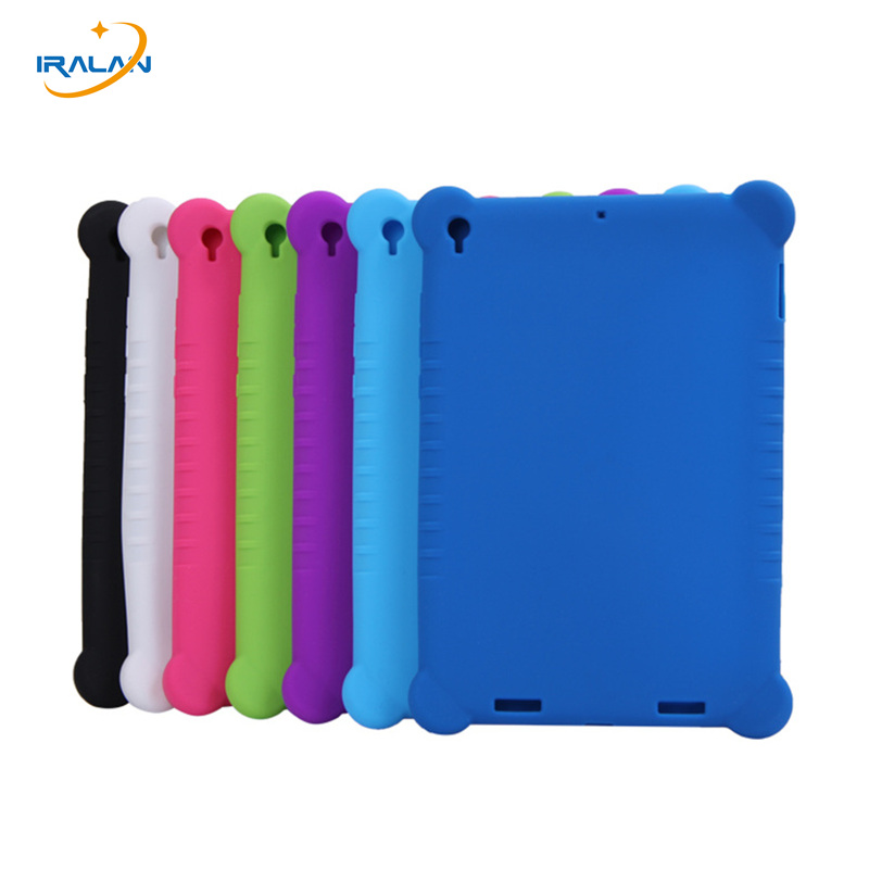 все цены на New fashion for Xiaomi Mi Pad 1 Silica gel Case for Xiaomi Mipad 1 7.9 inch Tablet PC Protective Silicone Cover + stylus gift онлайн