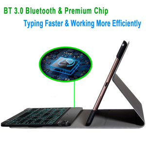 Image 3 - ضئيلة اللاسلكية للازالة بلوتوث لوحة المفاتيح حالة تغطية لتفاح باد الهواء 1 2 برو 9.7 5 6 جديد باد 9.7 2017 2018 A1822 A1893