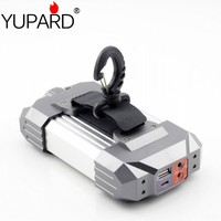 YUPARD 4in1 Tent Lanterns Usb Charge Hook Box Set 21 White 6 Red Lamp Beads Emergency